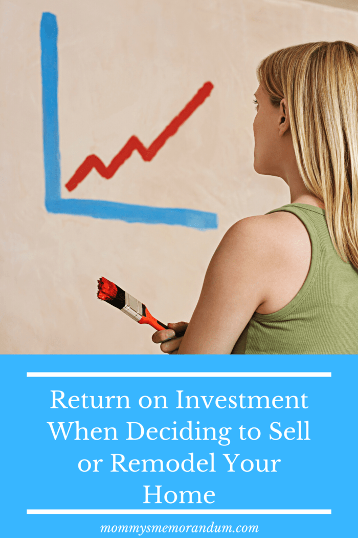 Remodel or Sell your home? Unless you are willing to hold out for years, the majority of home upgrades do not translate into a higher sale price that recoups or exceeds costs.