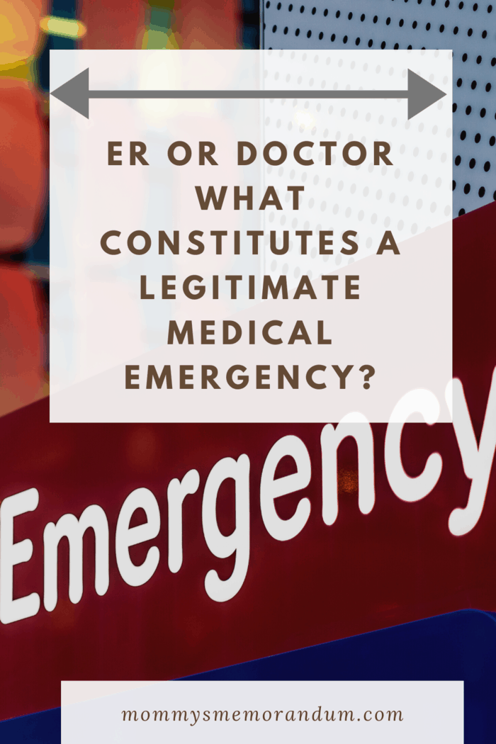 A medical emergency can be scary.