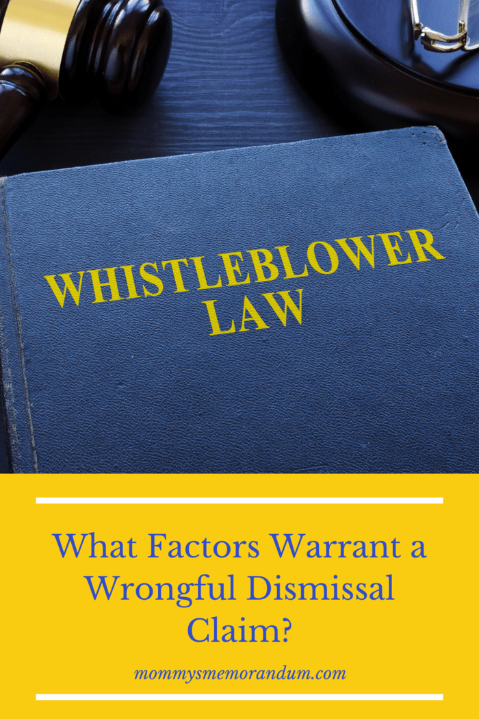 However, if you believe that your employer fired you for this reason, you'll most certainly need an employment lawyer on your side to prove that your employer's actions were retaliatory and not based on work performance or another permitted reason.