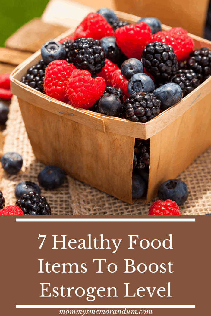 No matter if you wish to have it raw or make juice or smoothies, berries know how to uplift your estrogen hormones.