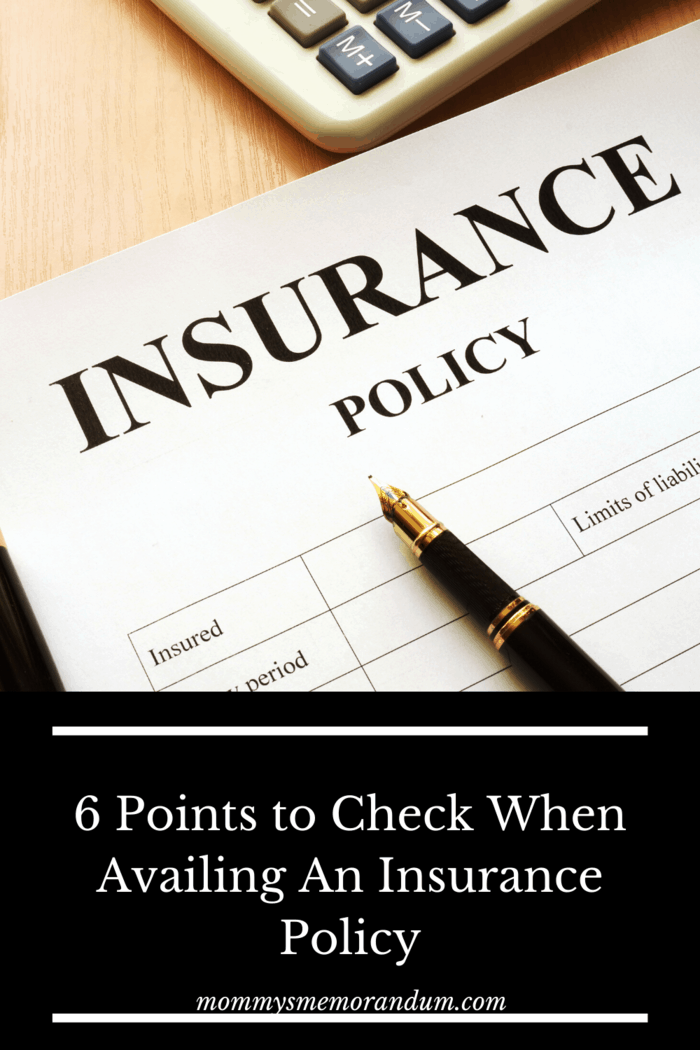When looking for an insurance policy, there are some things that you want to make sure you look for before you choose any one carrier or plan.