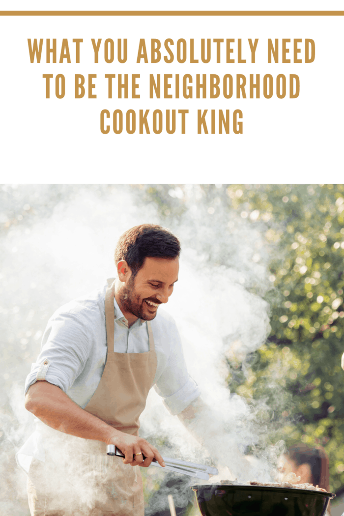 No cookout is complete without grilled food.