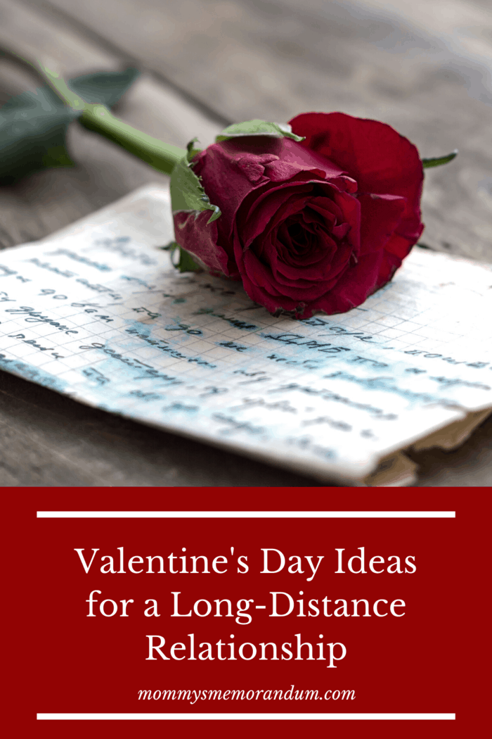 Any list of long-distance Valentine's Day ideas has to include the classic love letter.