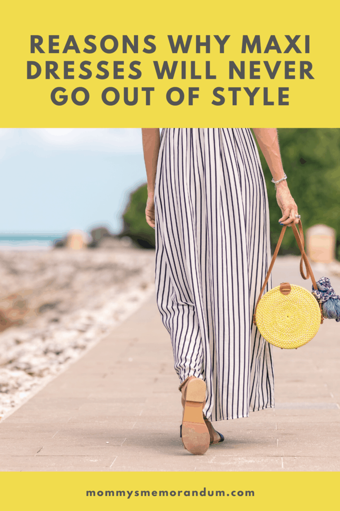 Maxi dresses can be worn at pretty much any formal or informal occasion, and for simply strolling around town or going shopping.