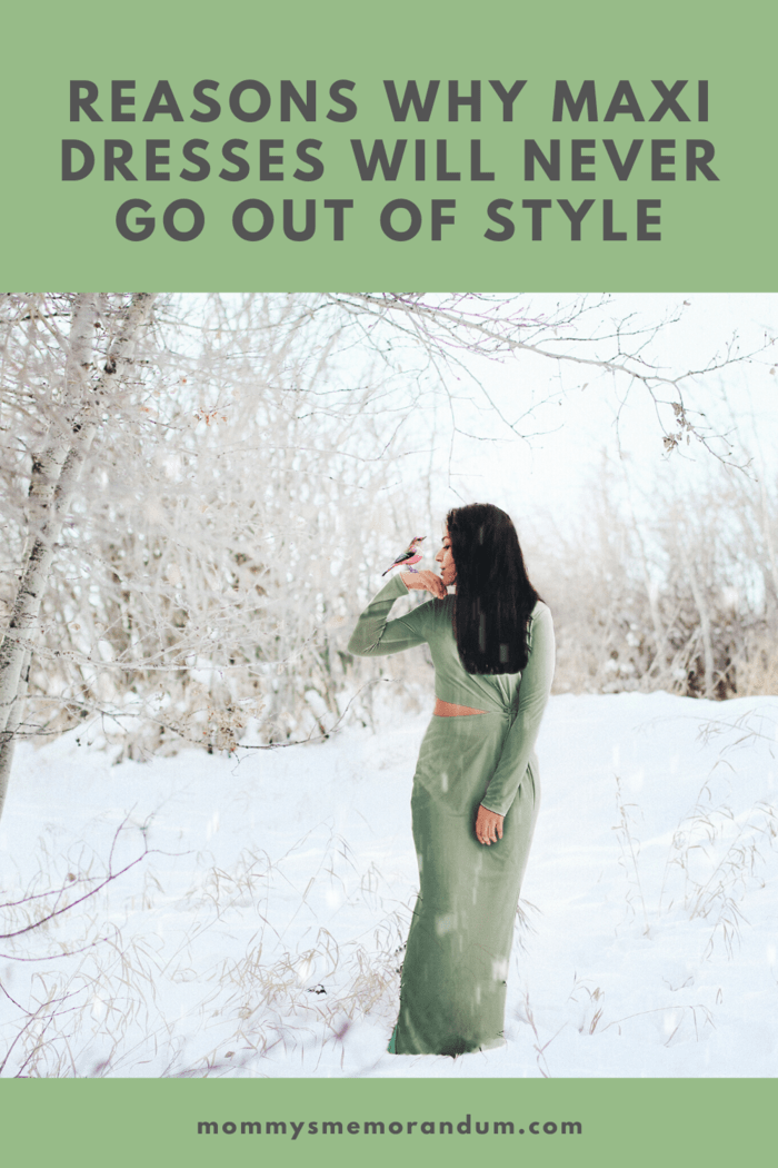 There are many reasons why maxi dresses will never be unfashionable, but the overarching reason is: they are so versatile.