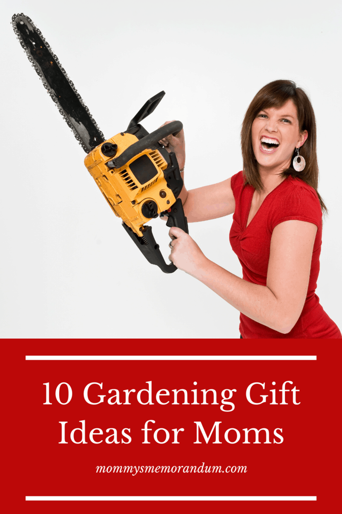 Many useful power tools exist that mom could benefit from having in the backyard from a hedge trimmer to a chainsaw or if she already has a chainsaw but the chain is no longer sharp enough to do the job; then a new chain would be a perfect gift.