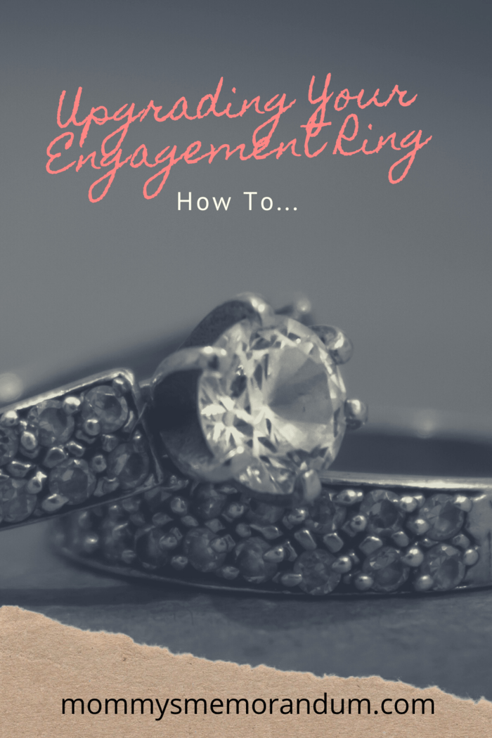 Here are some ring upgrade options that don't require you to get rid of your engagement ring.