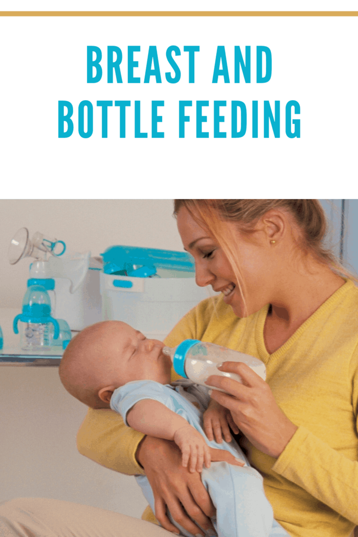 Keeping your newborn baby fed is an around-the-clock job.
