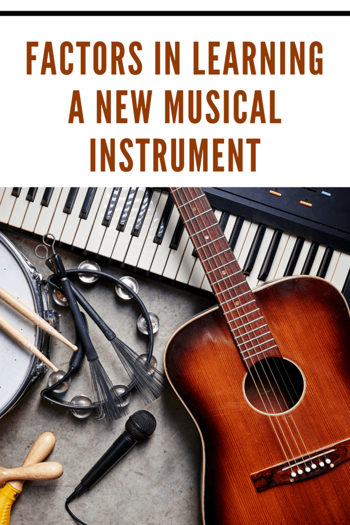 Learning how to play a new musical instrument is a rewarding experience.