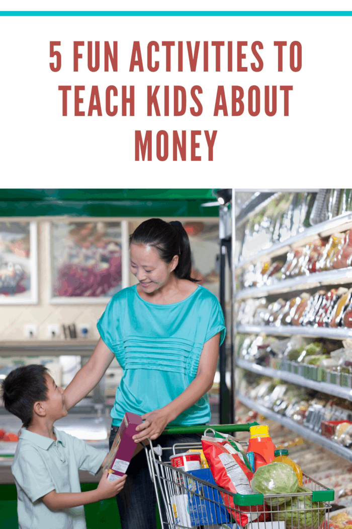 Every child would love to go shopping with their parents, and that can be the best chance to teach your kids about money.