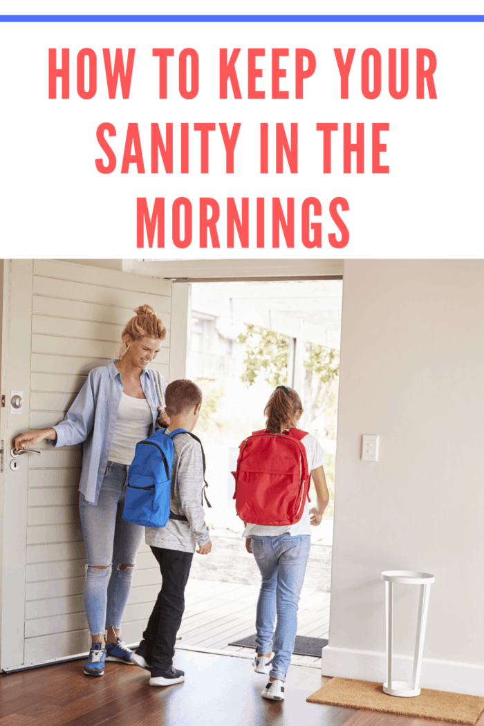 If you want to set yourself up for a stress-free and productive day ahead, here are a few tips to keep your sanity while taking care of your family's needs in the mornings.