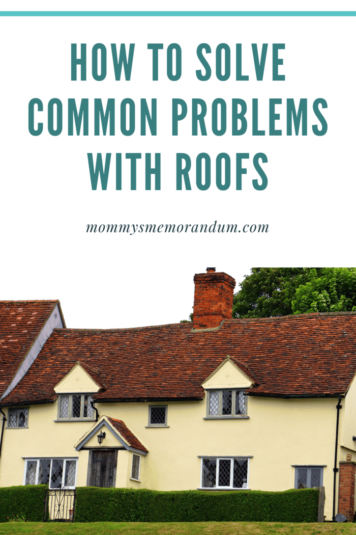 Your roof needs to be taken care of and should be regularly checked and maintained.