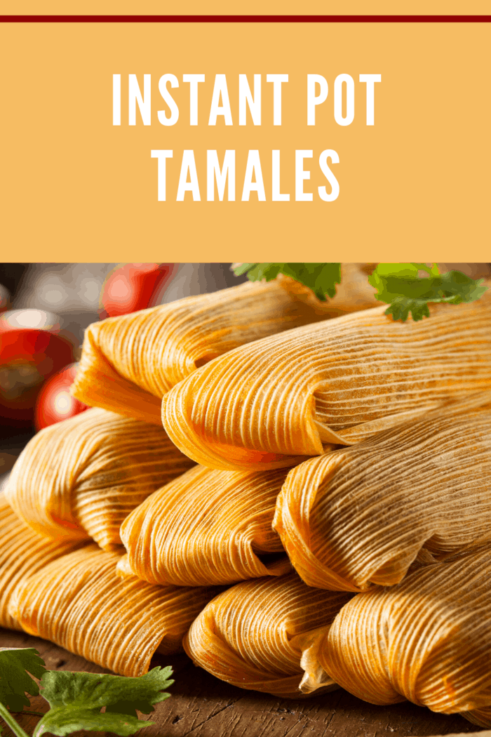 These pressure cooker tamales de rajas con queso (cheese tamales with sliced pickled jalapenos) are authentic and delicious.
