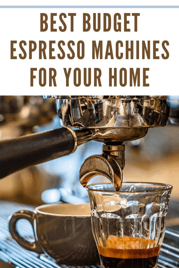 A quality espresso machine is something every home should have.