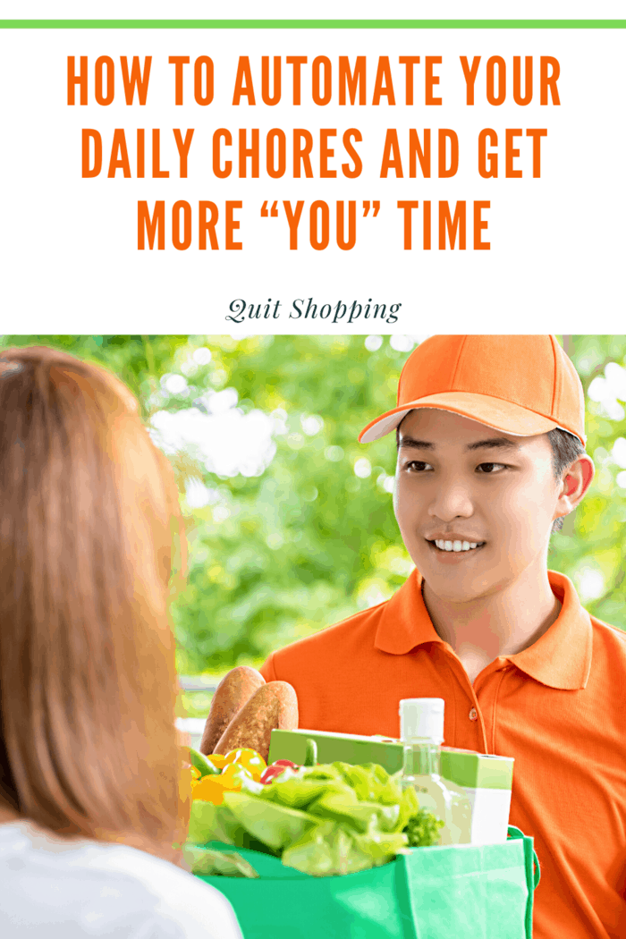 You can automate daily chores, delegating them to robot servants who will probably do a better job, anyway; giving you more free time to do what you choose.