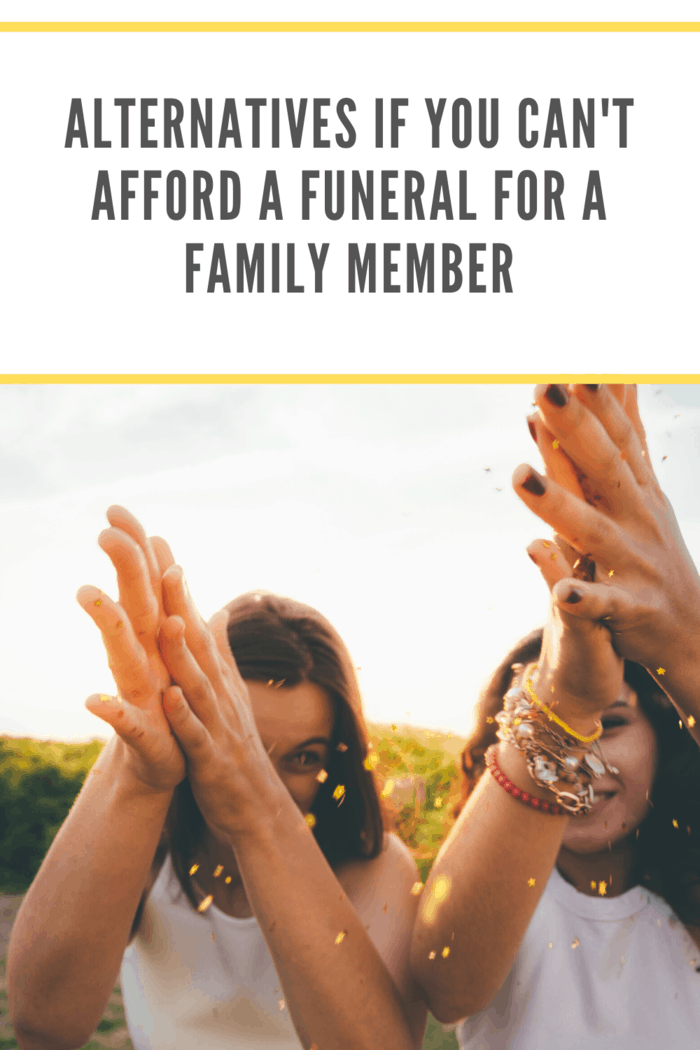 Looking into affordable funeral options might sound like a challenge, but it's no more work than throwing together a traditional funeral.