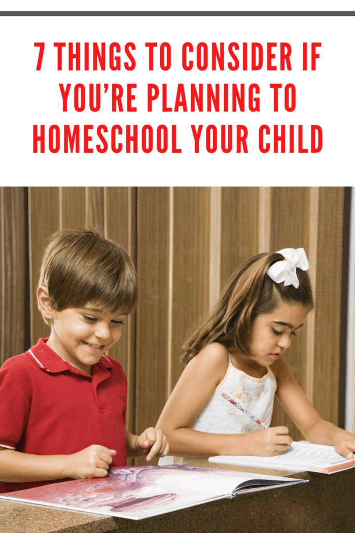 Another point to consider in homeschooling is the legality that comes with it.