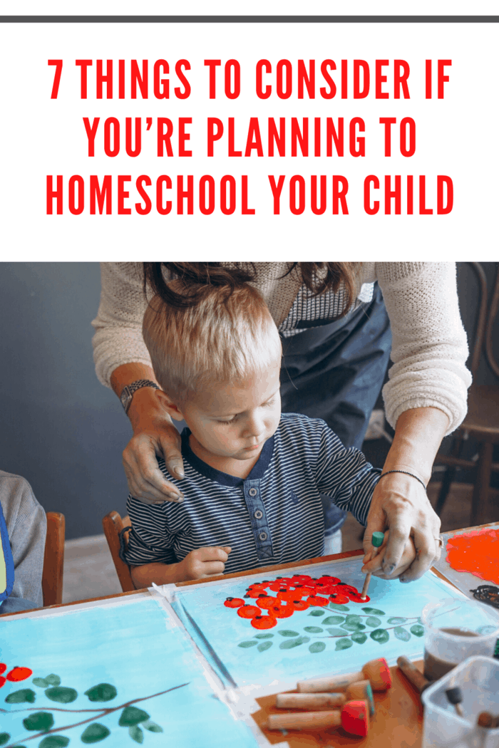 Make sure that each member of the household is committed to making the home a place conducive for learning.
