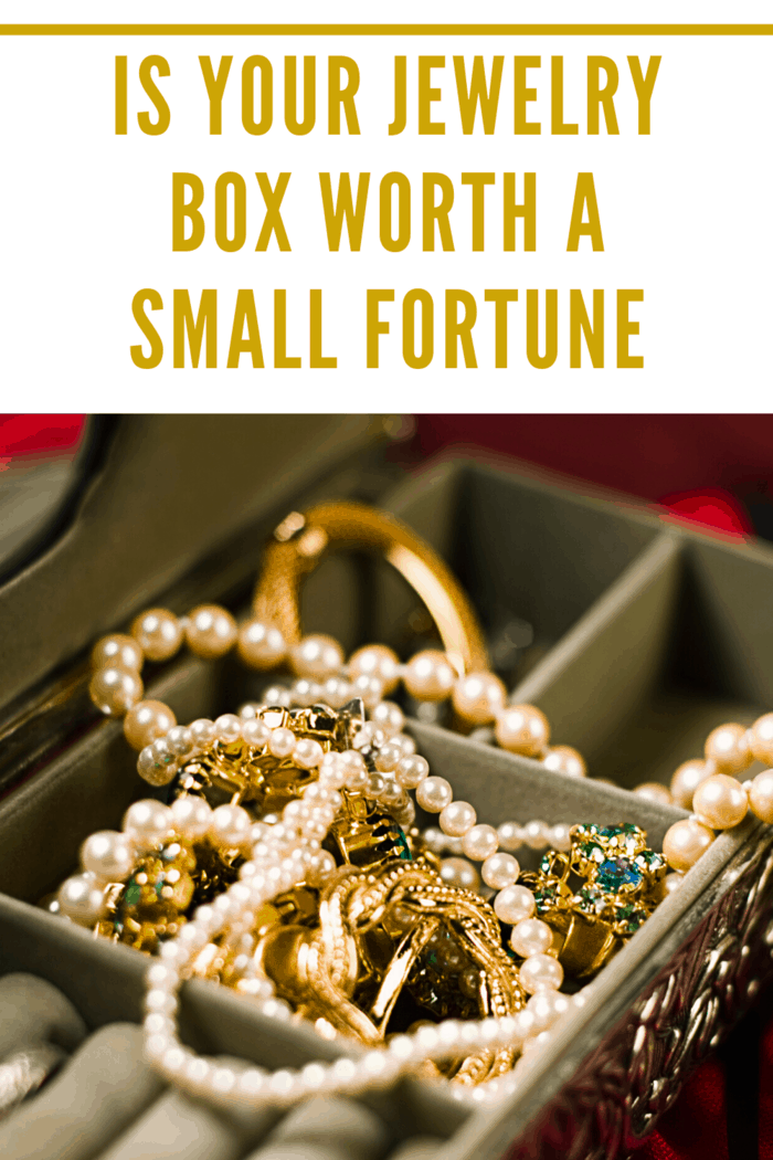 The contents of your jewelry box can be lucrative, but only if you know what you are looking for and what to do with it. Is your jewelry box worth a small fortune?