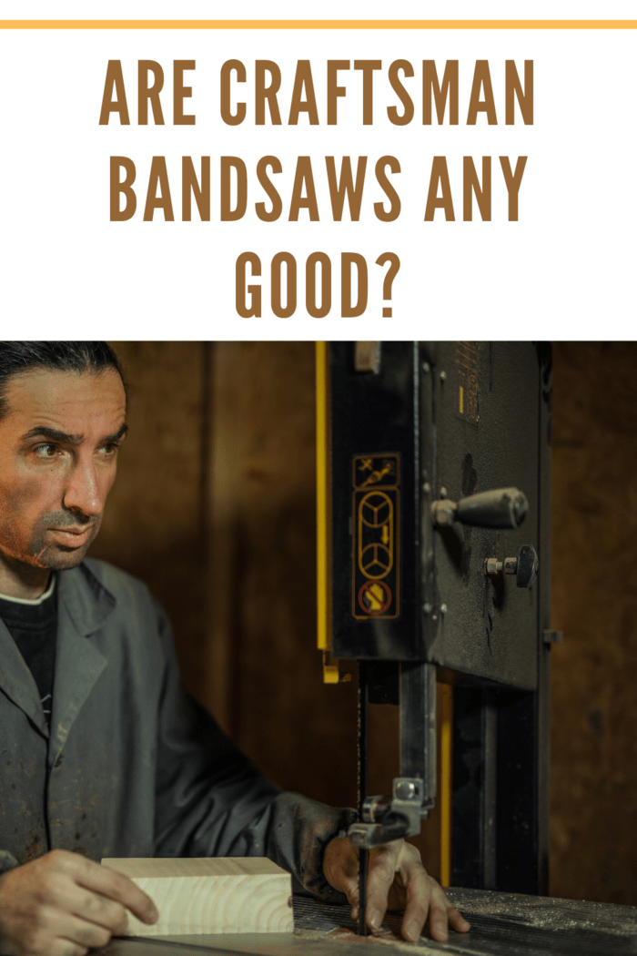 Craftsman band saws have been in the market for many years now.
