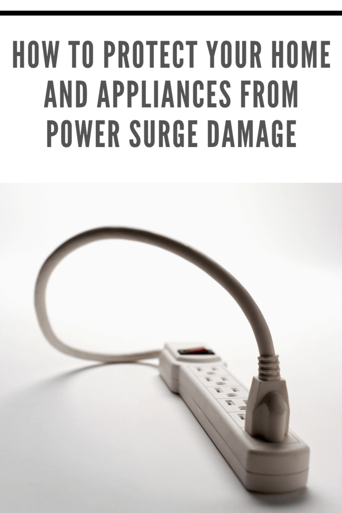 This willstop power surges from doing damage to any of your home's electronics and appliances.