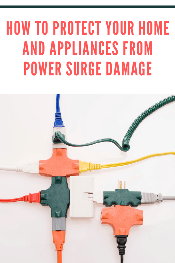 A power surge is a temporary increase in the voltage of an electrical circuit within your home.