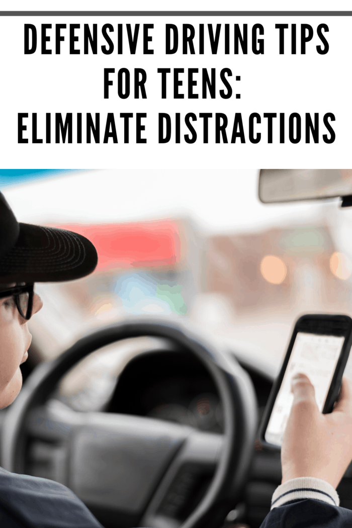 Teens who want to stay safe on the road need to remember this and ensure that they're not being distracted by their phone or anything else while driving.