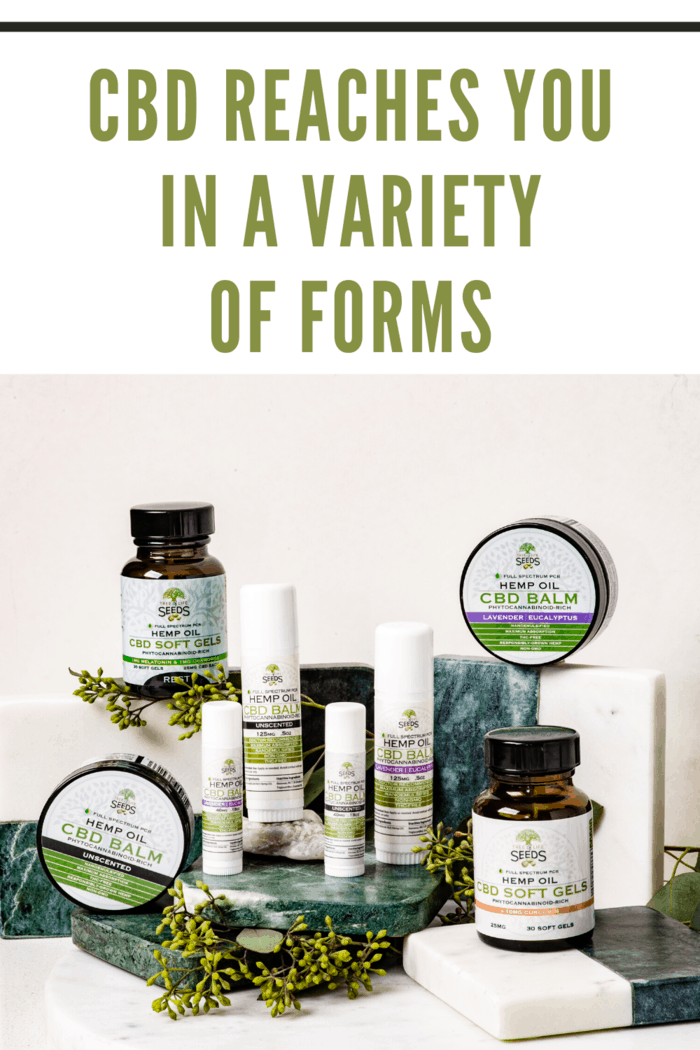 variety of cbd products