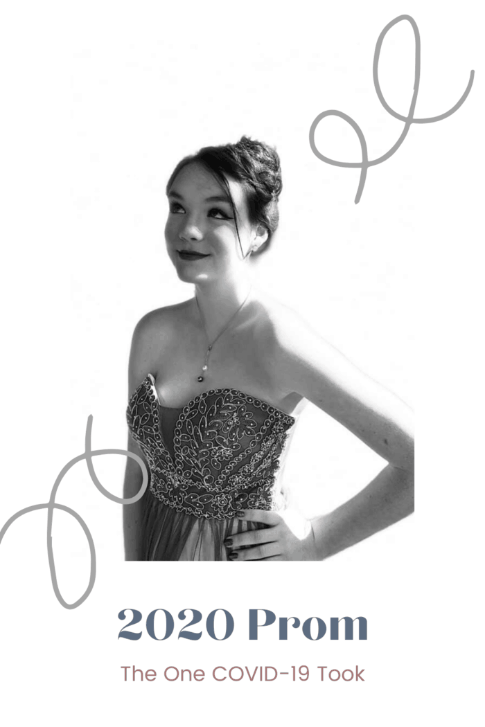 Prom 2020. It was the Prom that taught me my daughter is resilient. She is creative. She dares to dream and reinvent the dream to meet the situation. #prom2020 #promblackandwhite #prompose #promstyle #promphoto #promdress