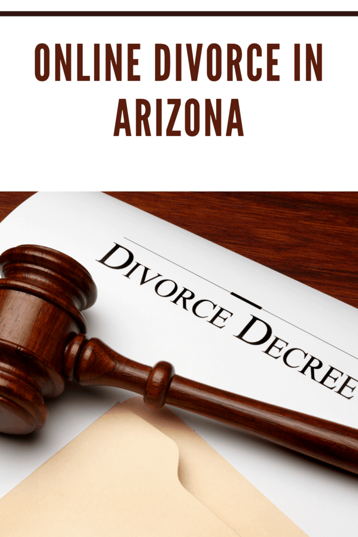 For an online divorce in Arizona, your spouse must be a resident of the state of Arizona for at least 90 days.