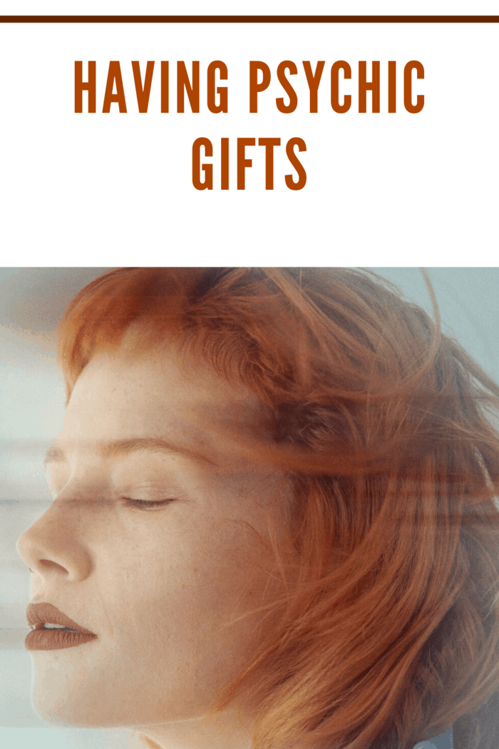 woman with red hair psychic gifts