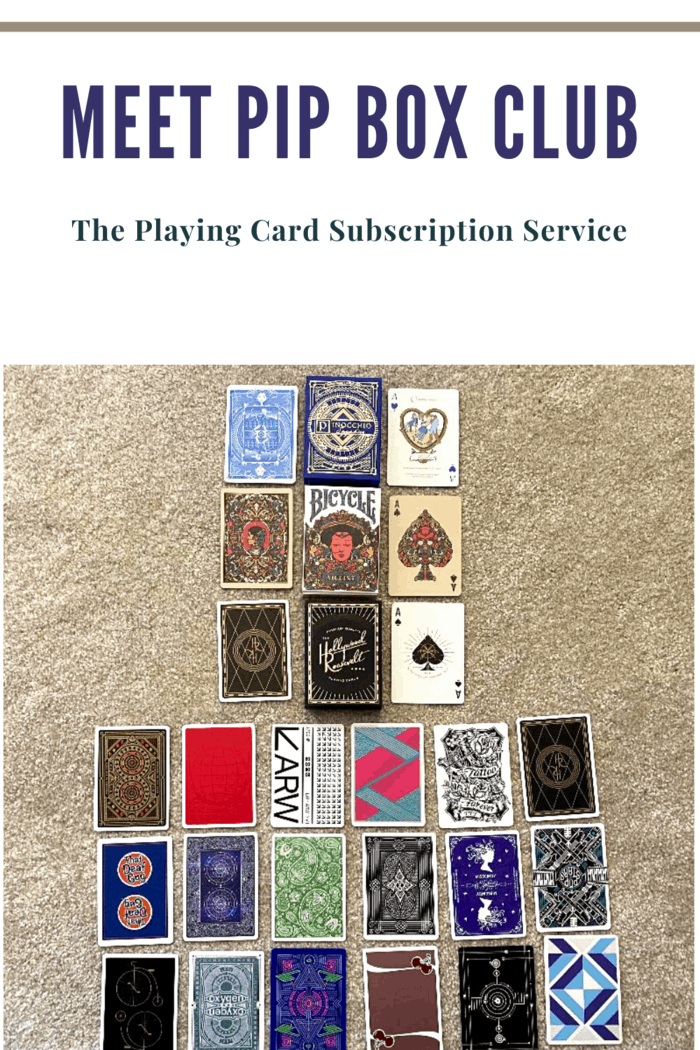 One of the decks in the subscription box, regardless of whether it's the Big or Small, will be a new release (released within the past two months).