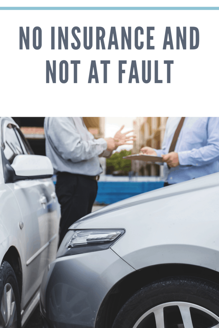 There are few simple steps you should stick to in the aftermath of the accident in the no insurance and no at-fault scenario.