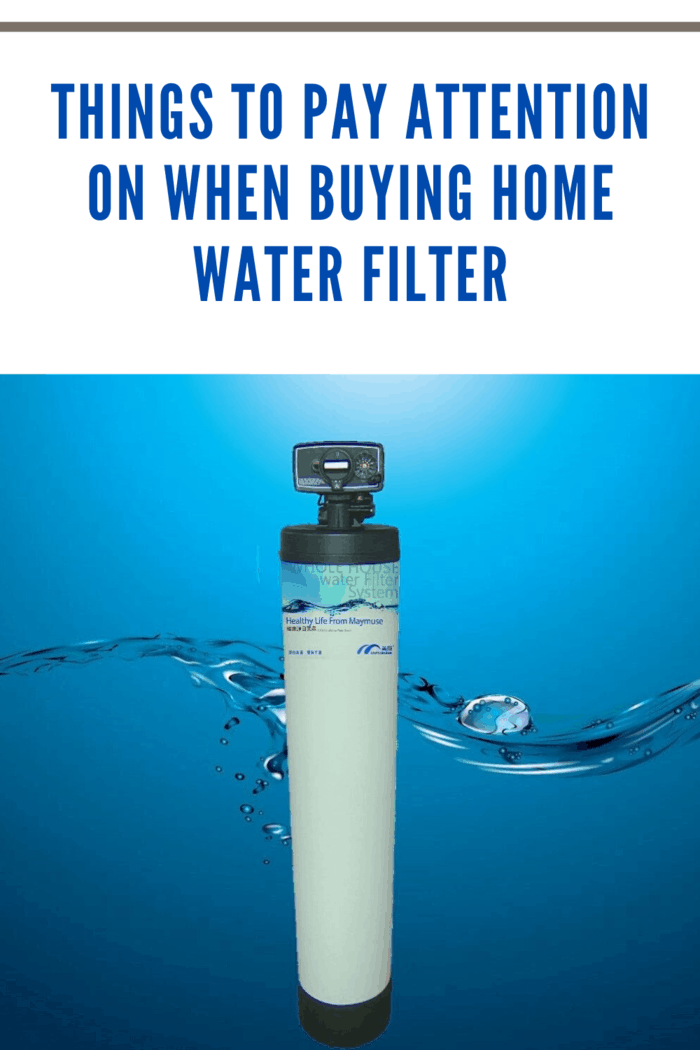 If you want to get the best value for your money, you have to do a thorough research when buying a home water filter.