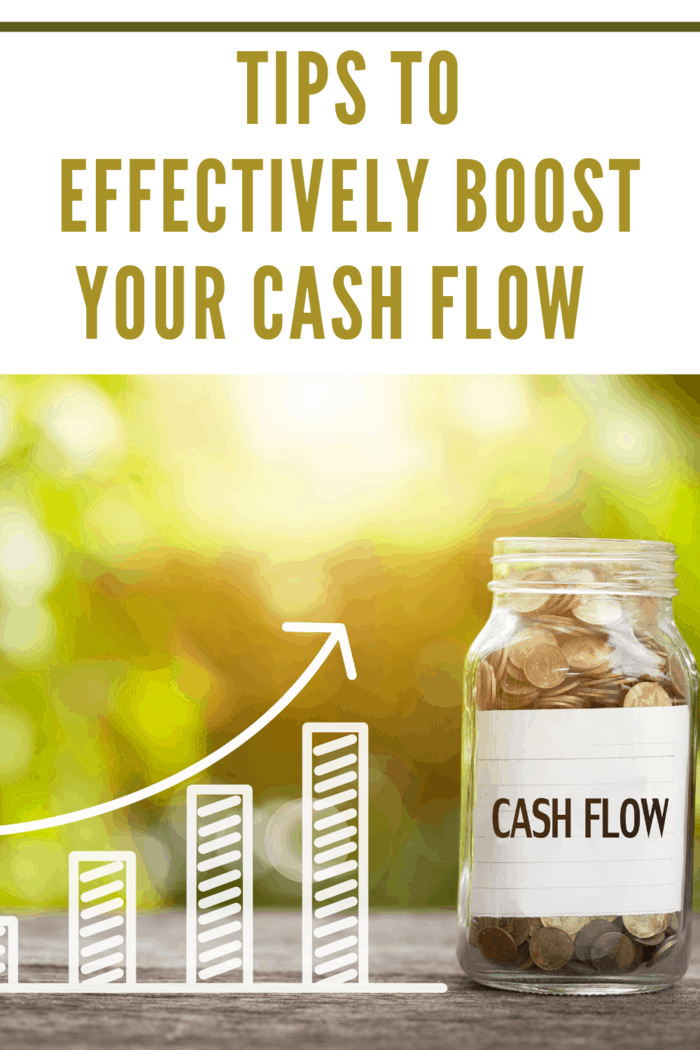 boost your cash flow graph