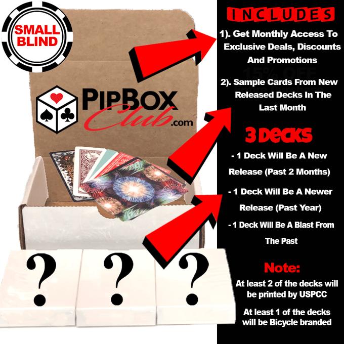 pip box club small blind box