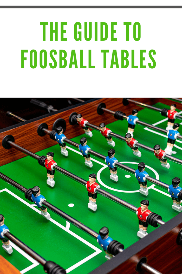 fooseball table closeup