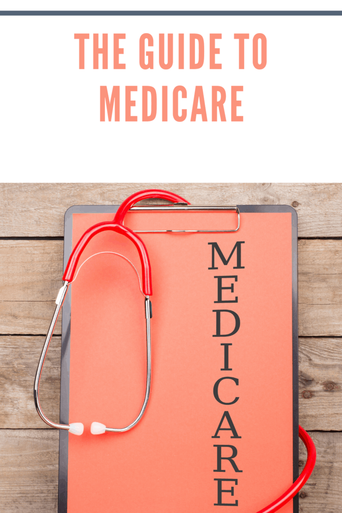 clipboard with medicare written veritically and stethoscope draped over