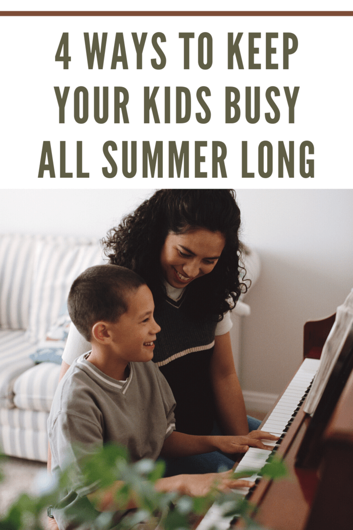 4 Ways to Keep Your Kids Busy All Summer Long • Mommy's Memo