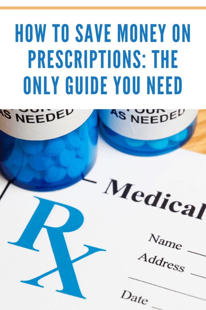 """Pill Bottle and Prescription, concept for Healthcare And Medicine"""