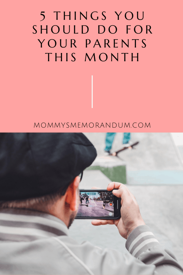Another great way to connect with your parents this month is to hold a video chat game night.