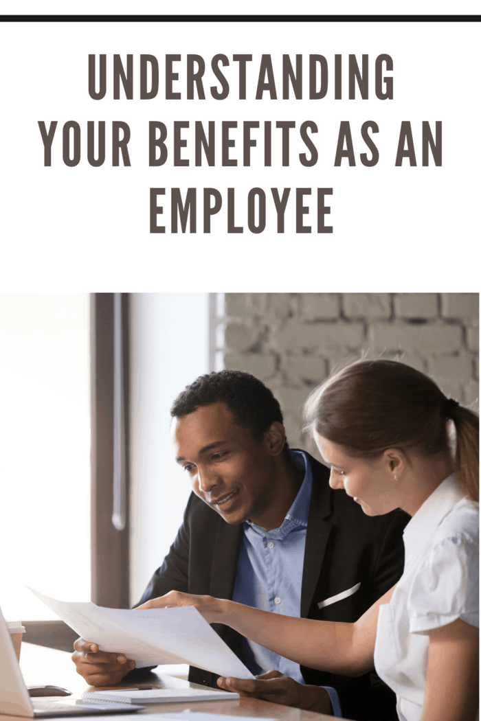 hr and employee going over employee benefits