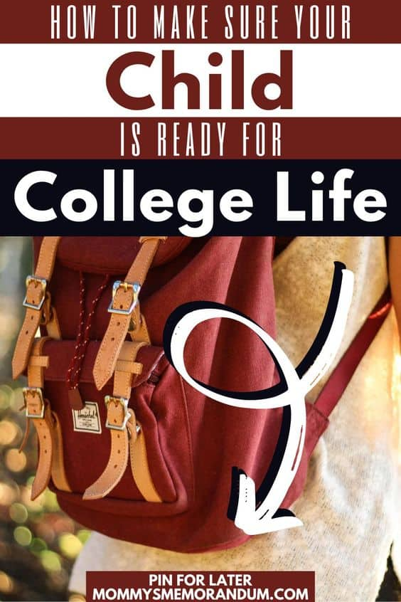 backback device cables and other supplies to make sure your child is prepared for college