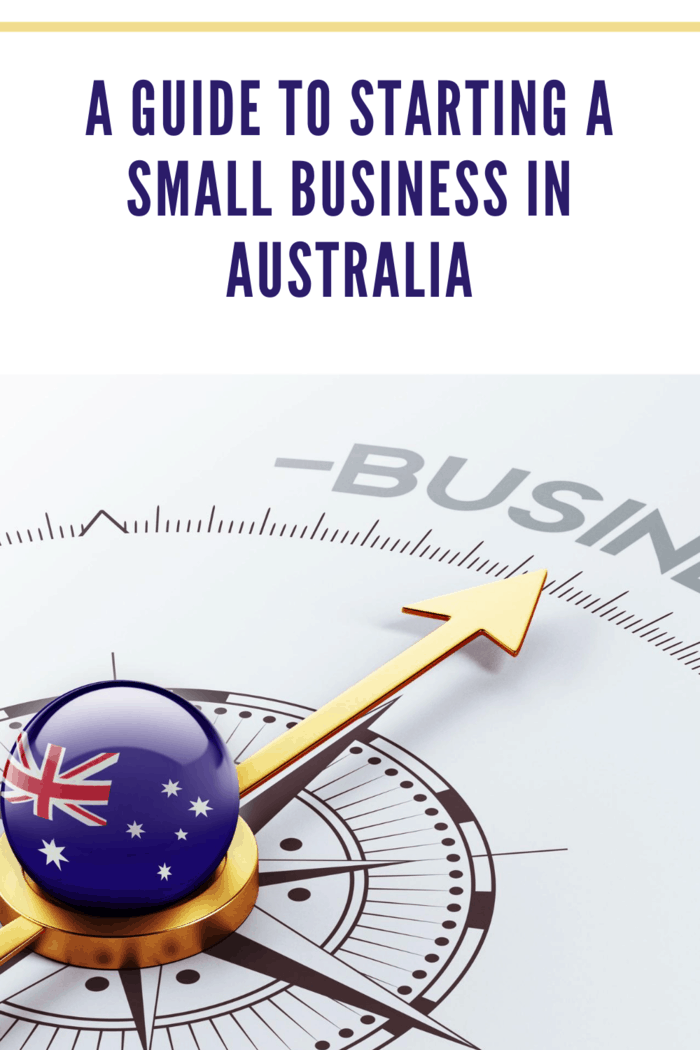 Australia High Resolution Business Concept of starting a small business in australia