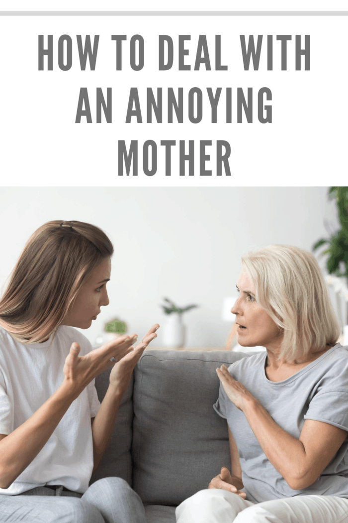 Angry young woman has disagreement with annoyed old mother in law, grown daughter arguing fighting quarreling with annoying mom, different age generations bad relations family conflict concept
