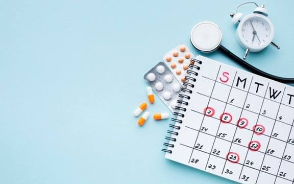 calendar and medication as part of management tips for doctors patients