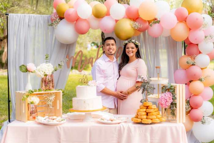 Couples Baby Shower organize baby shower
