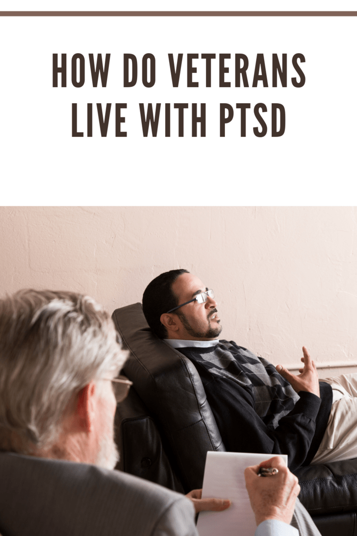war vetran living with ptsd and getting therapy