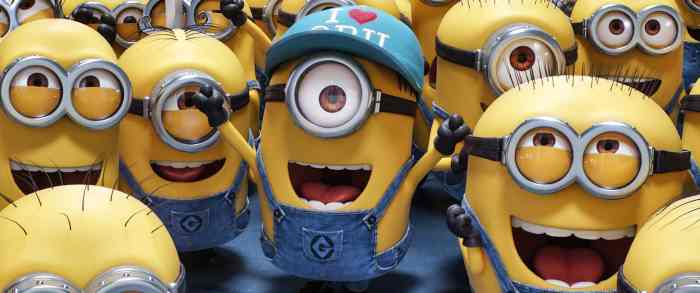 minions from despicable me 3