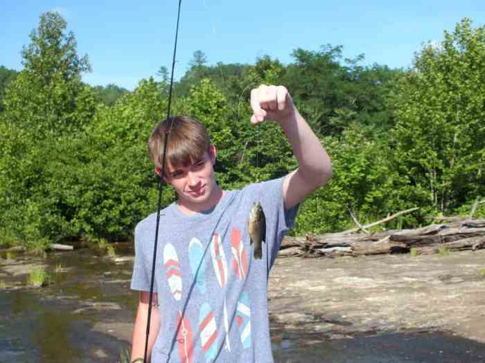 3:39pm and Cooper has his NINTH fish of the day...it's not even been an hour.